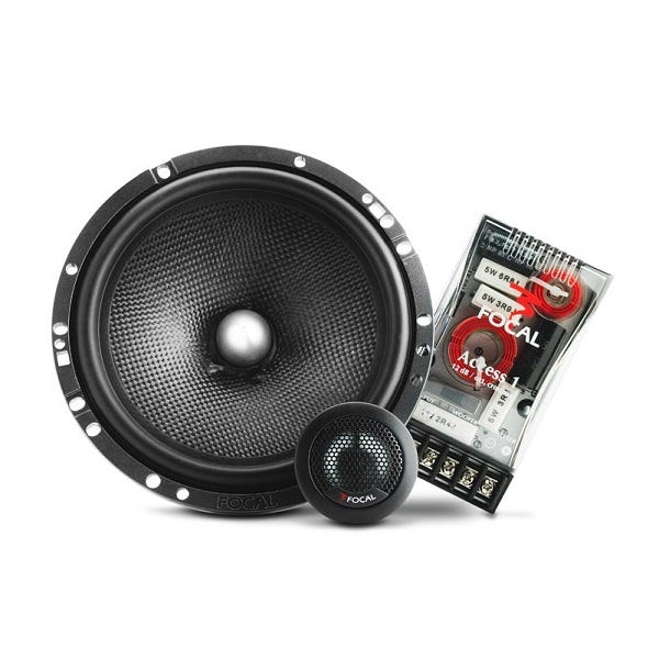 Car Toys coupon: Focal 165A1SG 2-Way 6.5-inch Component Speaker Pair Kit for Cars, Trucks & Motor Vehicles