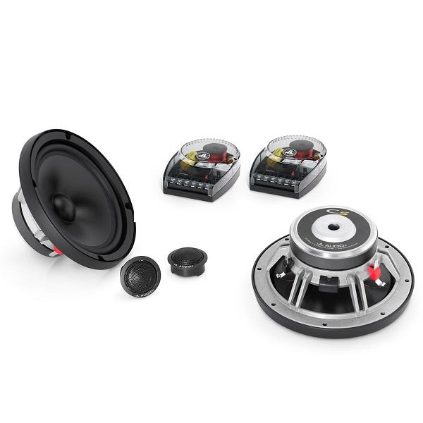 Car Toys coupon: JL Audio Evolution C5-650 6.5 Inch 2-Way Component Speaker Set for Cars, Trucks & Motor Vehicles