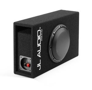 Car Toys coupon: JL Audio CP108LG-W3v3 Single 8 Inch Slot Ported, Loaded Enclosure for Cars, Trucks & Motor Vehicles