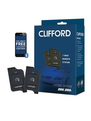 Clifford DS4XC1 1-Way 1-Button Remote Start System