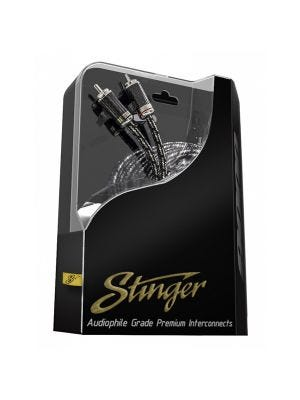 Stinger SI9217 9000 Series 2 Channel RCA Interconnect 17 Feet