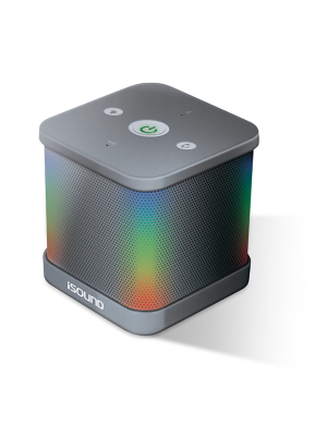 iSound ISOUND6951 iGlowsound Dance Color Changing Bluetooth Speaker