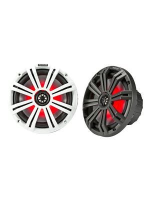 Kicker 45KM84L 8 Inch Coaxial Speakers with LED Lighting