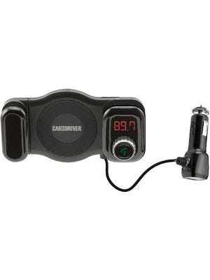Car and Driver - Vent Mount Bluetooth FM Transmitter - Black
