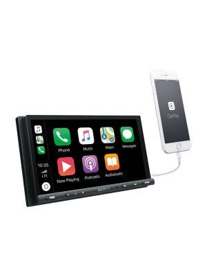 Sony XAV-AX5000 6.95 Inch Media Receiver with CarPlay, Android Auto and Bluetooth