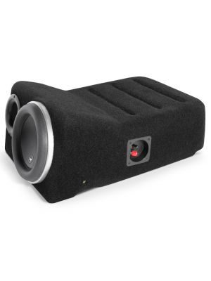 JL Audio Stealthbox Toyota Tundra Double Cab '07-Up Red Rock
