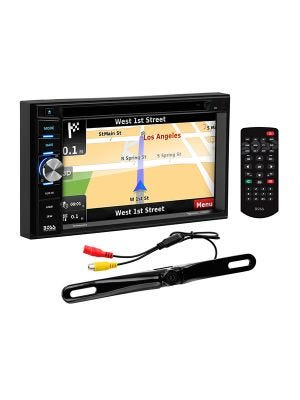 Boss Elite BN965BLC 6.5 Inch Navigation DVD Receiver with Bluetooth and Included Rear View Camera