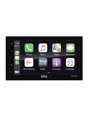 Boss BV800ACP 6.75 Inch Display Media Receiver with Apple CarPlay and Android Auto