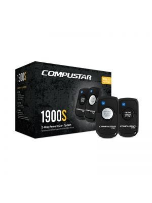 Compustar CS1900SPK All-in-One 2-Way Remote Start Package with Bypass Module