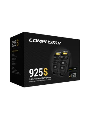Compustar CS925-SPKG All-in-One Remote Start Bundle with 1500 foot range w/Bypass Module