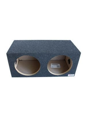 Atrend E12D 12 Inch Dual Subwoofer Sealed Enclosure