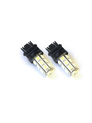 Race Sport 3157-18SMD-5050-R 3157 Base LED Bulb Red Pair