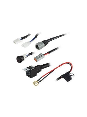 Heise HE-SLWH2 1 Lamp ATP Wiring Harness & Switch Kit