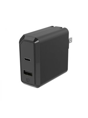 Scosche HPDA2C8 USB-C / USB-A Fast Charger with PowerVolt Power Delivery