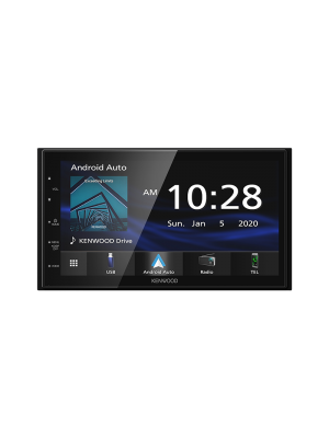 Kenwood DMX4707S 6.8 Inch Multimedia Receiver with Apple CarPlay And Android Auto