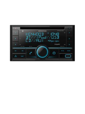 Kenwood DPX504BT CD Receiver with Bluetooth and Amazon Alexa voice control