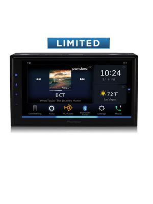 Pioneer DMH-W4660NEX 6.8 Inch Multimedia Receiver with Wireless Apple CarPlay and Android Auto