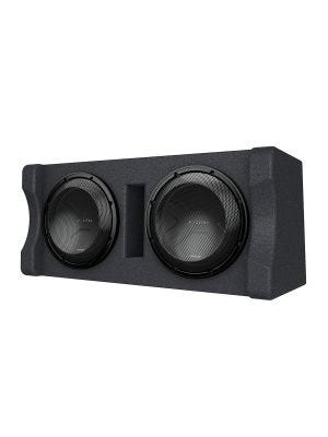 Kenwood P-XW1221D Dual 12 Inch Preloaded Subwoofer Enclosure