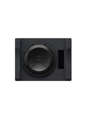 Kenwood P-XW1241S 12 Inch Preloaded Subwoofer Enclosure Sub