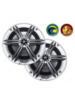 Stinger SEA65S 6.5 Inch Coaxial Marine Speakers