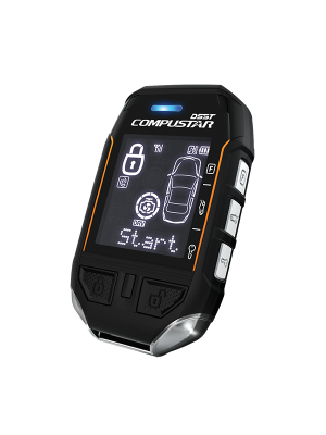 CompuStar CSRSST12S 2-Way LCD Remote Start  and Security System with 3 Mile Range