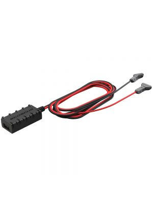 Scosche UHWK-SP1 Universal 5.ft USB Hard Wire Kit with USB-A and Quick Connectors
