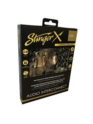 Stinger XI3220 X3 Series 2 Channel 20 Foot RCA Audio Interconnect