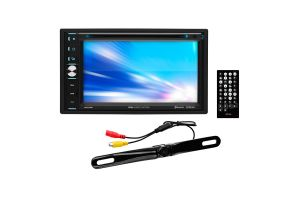 Boss Elite BV765BLC 6.5 Inch DVD Receiver with Bluetooth and Included Rear View Camera