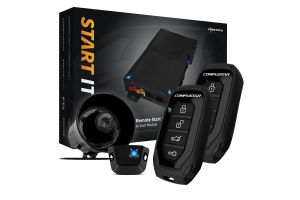 CompuStar CSRSS15AP 1000 Foot Remote Start and Security Bundle with Two 1-Way Remotes