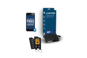 Clifford DERS9756 2-Way LCD Remote Start System with 1 Mile Range