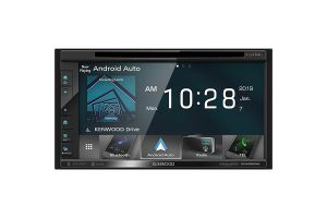 Kenwood eXcelon DDX6906S 6.8 Inch DVD Receiver -  Apple CarPlay and Android Auto Ready