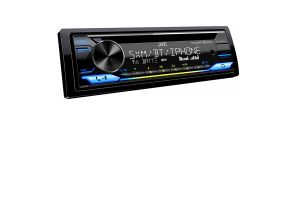 JVC KD-TD91BTS CD Media Receiver with Built-in Bluetooth and Alexa Compatible