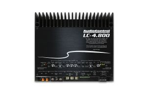 Audio Control LC-4.800 High Power 4/3/2 Channel Amplifier with Accubass