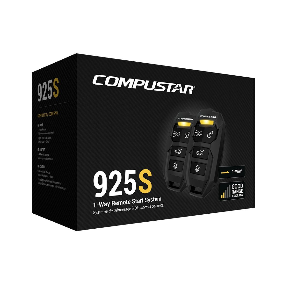 Compustar CS925-S All-in-One Remote Start Bundle with 1500 foot range