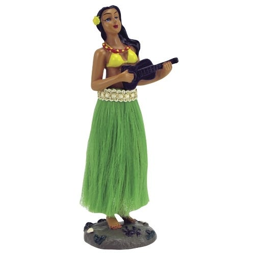 Car Toys coupon: Bell Automotive Dashboard Hula Doll | Green