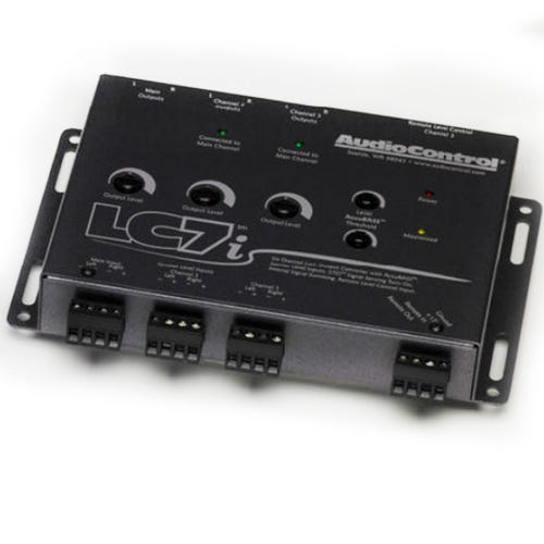Car Toys coupon: AudioControl LC7i Six Channel Line Output Converter with AccuBASS