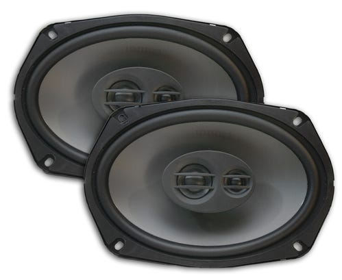 Car Toys coupon: Quinn Acoustics QE693 6x9 Inch 3-Way Speaker Pair for Cars, Trucks & Motor Vehicles