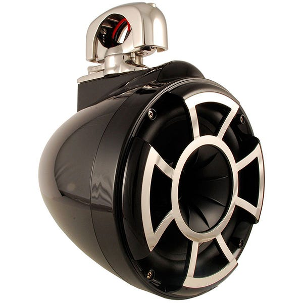 Car Toys coupon: Wet Sounds REV8 B-SC 8 Inch Marine Tower Speaker with TC3 Swivel Clamp | Black