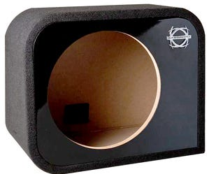 Car Toys coupon: Bassworx RS10RG Reference Series Single 10 Inch Sealed Subwoofer Enclosure Gloss for Cars, Trucks & Motor Vehicles