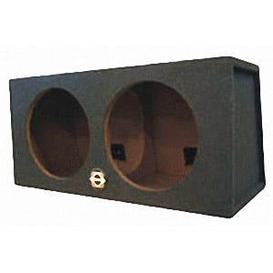 Car Toys coupon: Bassworx SW212B Dual 12 Inch Street Wedge Series Sealed Subwoofer Enclosure for Cars, Trucks & Motor Vehicles