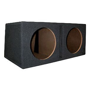 Car Toys coupon: Bassworx SWP210B Street Wedge Series Dual 10 Inch Slot-Port Subwoofer Enclosure for Cars, Trucks & Motor Vehicles