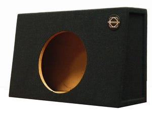 Car Toys coupon: Bassworx TP12B Truck Series Single 12 Inch Slot Ported Subwoofer Enclosure