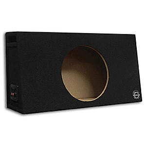 Car Toys coupon: Bassworx TP8B Truck Series Single 8 Inch Slot Ported Subwoofer Enclosure