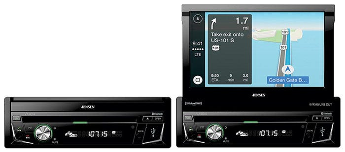 Flip Out Touch Screen Car  Stereo