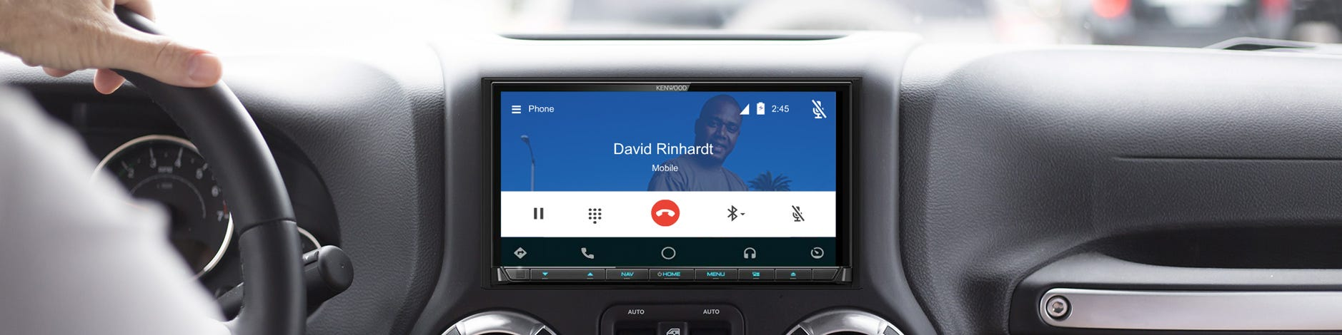 benefits android auto banner