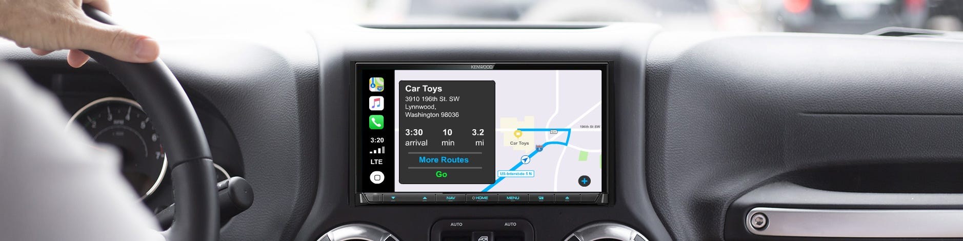 benefits apple Carplay banner