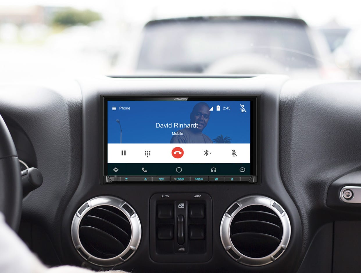 android Auto mobile banner
