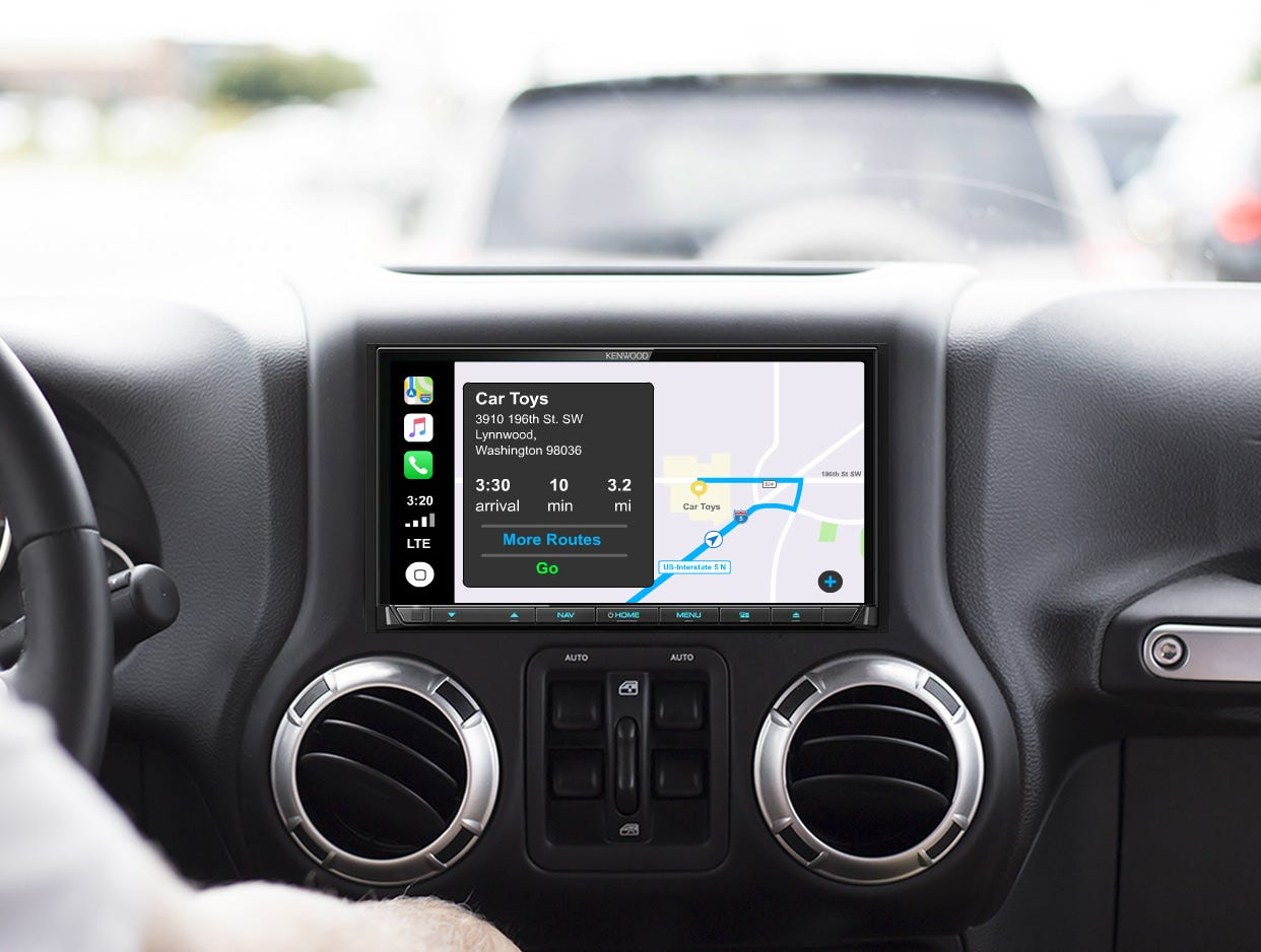 apple Carplay mobile banner