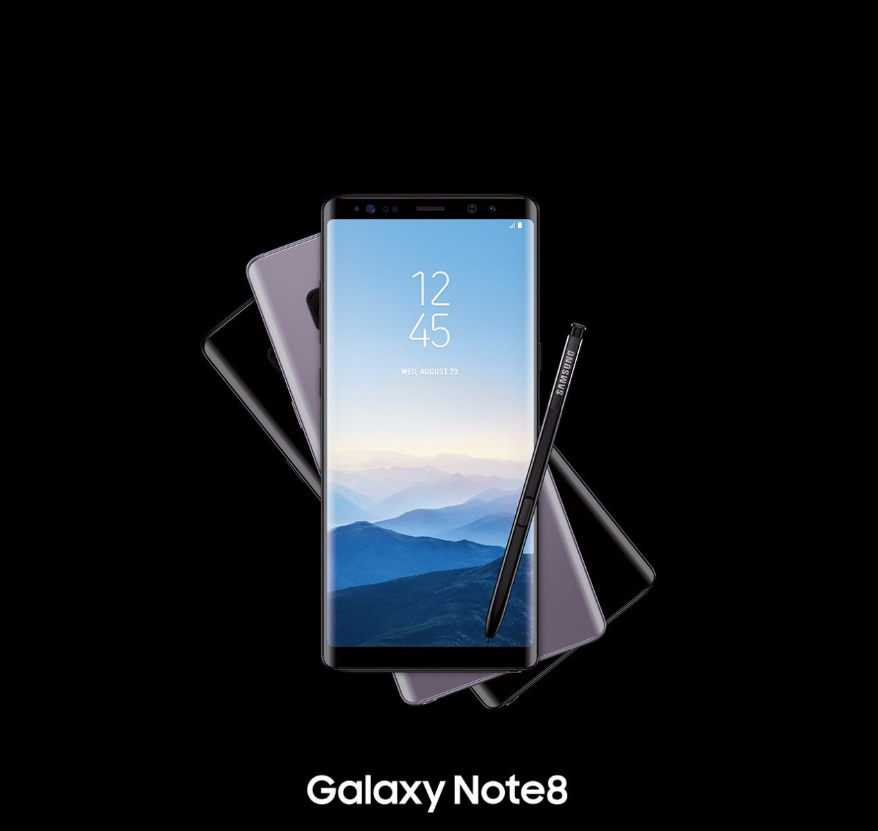 Galaxy Note8 phone and pen