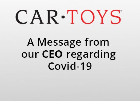 covid-19 message from ceo banner
